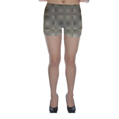 Fashion Style Glass Pattern Skinny Shorts