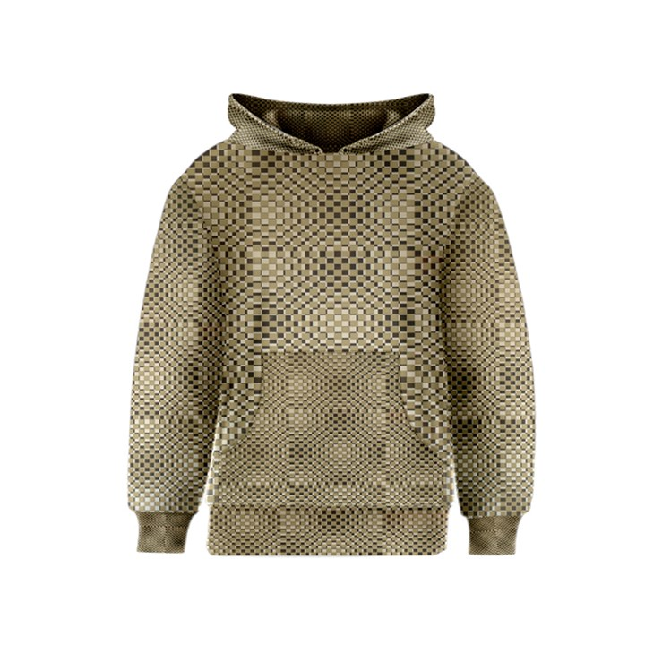 Fashion Style Glass Pattern Kids  Pullover Hoodie