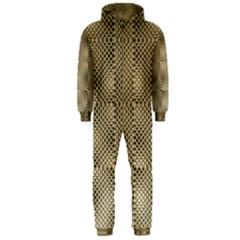 Fashion Style Glass Pattern Hooded Jumpsuit (Men)
