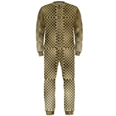 Fashion Style Glass Pattern OnePiece Jumpsuit (Men)