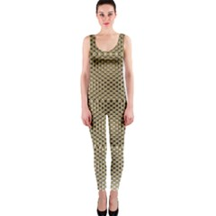 Fashion Style Glass Pattern OnePiece Catsuit