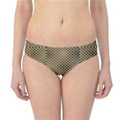 Fashion Style Glass Pattern Hipster Bikini Bottoms