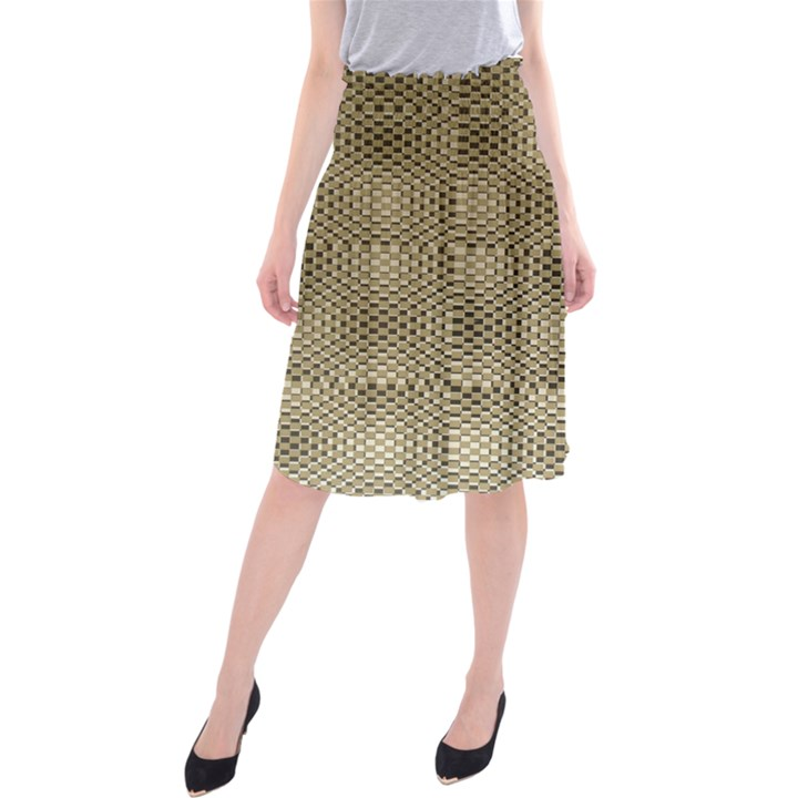 Fashion Style Glass Pattern Midi Beach Skirt