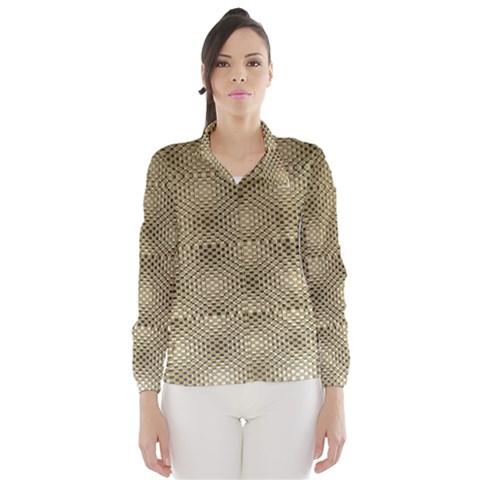 Fashion Style Glass Pattern Wind Breaker (Women)