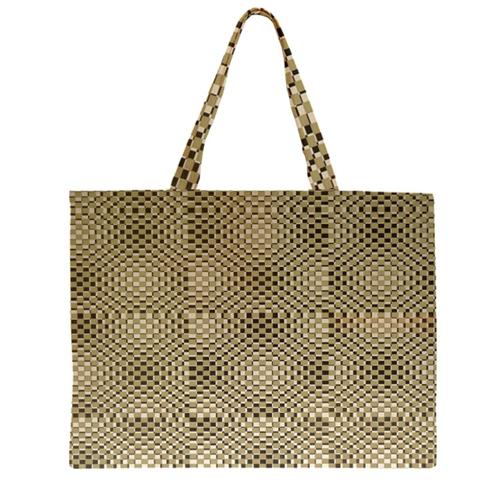 Fashion Style Glass Pattern Large Tote Bag