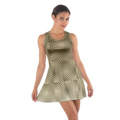 Fashion Style Glass Pattern Cotton Racerback Dress