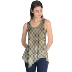 Fashion Style Glass Pattern Sleeveless Tunic