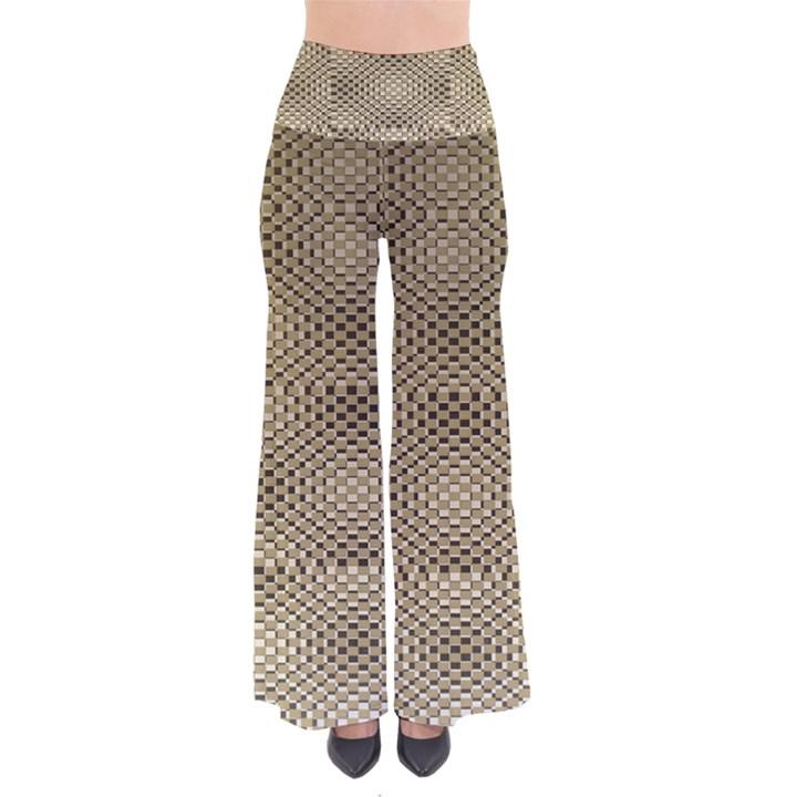 Fashion Style Glass Pattern Pants