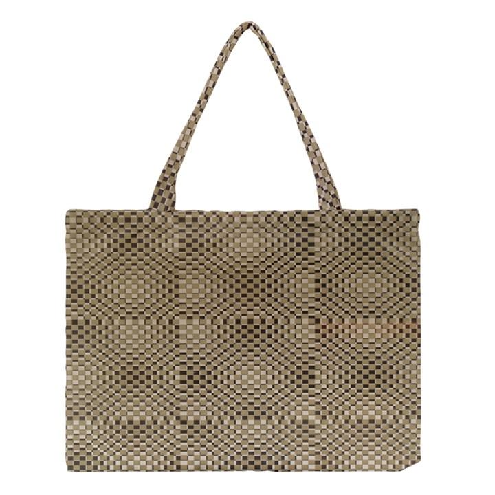 Fashion Style Glass Pattern Medium Tote Bag