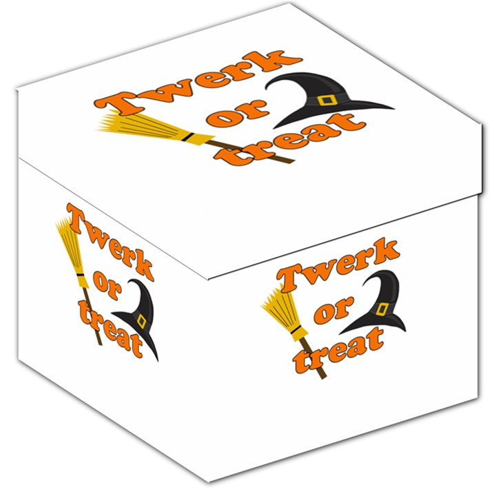 Twerk or treat - Funny Halloween design Storage Stool 12