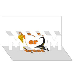 Twerk or treat - Funny Halloween design MOM 3D Greeting Card (8x4)