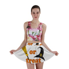 Twerk Or Treat   Funny Halloween Design Mini Skirt