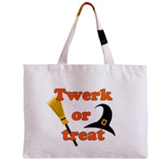 Twerk or treat - Funny Halloween design Mini Tote Bag