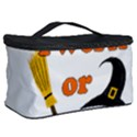 Twerk or treat - Funny Halloween design Cosmetic Storage Case View2