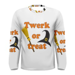Twerk or treat - Funny Halloween design Men s Long Sleeve Tee