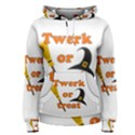 Twerk or treat - Funny Halloween design Women s Pullover Hoodie View1
