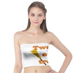 Twerk or treat - Funny Halloween design Tube Top