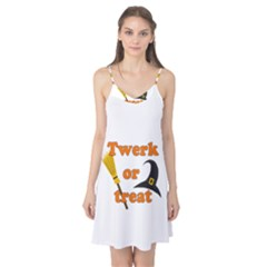 Twerk or treat - Funny Halloween design Camis Nightgown