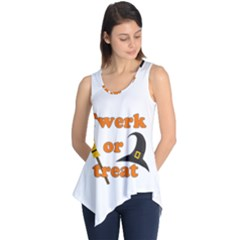 Twerk or treat - Funny Halloween design Sleeveless Tunic