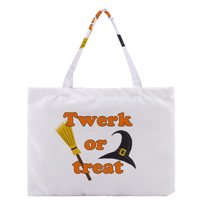 Twerk or treat - Funny Halloween design Medium Tote Bag