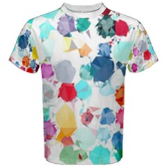 Colorful Diamonds Dream Men s Cotton Tee