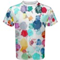 Colorful Diamonds Dream Men s Cotton Tee View1