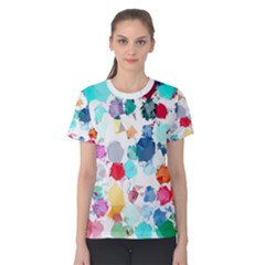 Colorful Diamonds Dream Women s Cotton Tee
