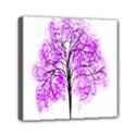 Purple Tree Mini Canvas 6  x 6  View1