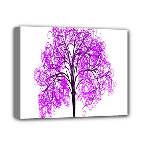 Purple Tree Deluxe Canvas 14  x 11