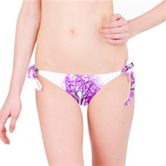 Purple Tree Bikini Bottom