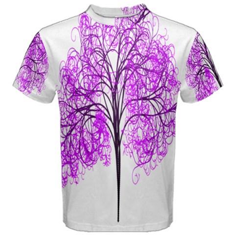 Purple Tree Men s Cotton Tee