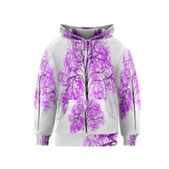 Purple Tree Kids  Zipper Hoodie
