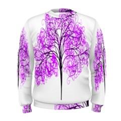 Purple Tree Men s Sweatshirt