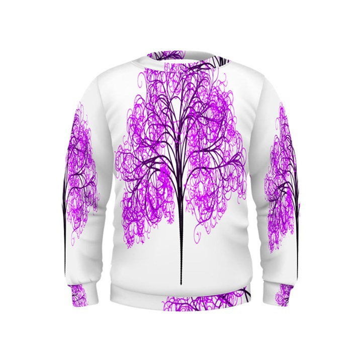 Purple Tree Kids  Sweatshirt