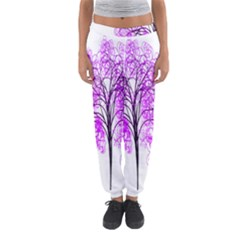 Purple Tree Women s Jogger Sweatpants