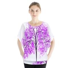 Purple Tree Blouse