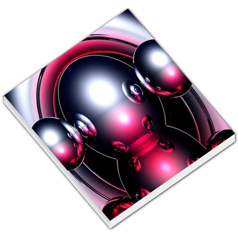 Red 3d  Computer Work Small Memo Pads