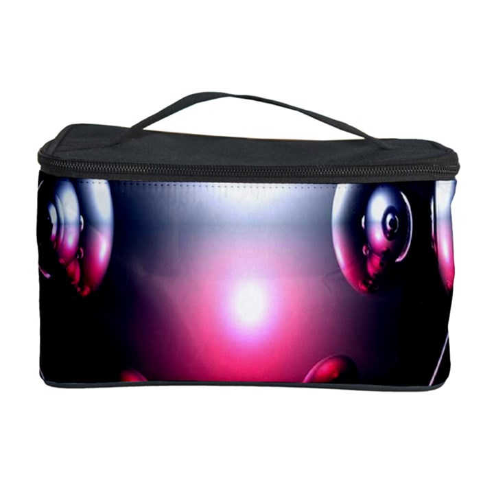 Red 3d  Computer Work Cosmetic Storage Case