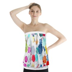 Colorful Diamonds Dream Strapless Top