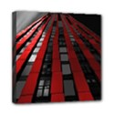 Red Building City Mini Canvas 8  x 8  View1