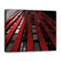 Red Building City Canvas 14  x 11  View1