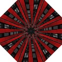 Red Building City Folding Umbrellas View1