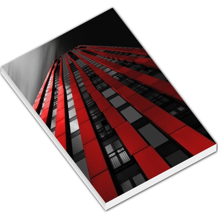 Red Building City Large Memo Pads