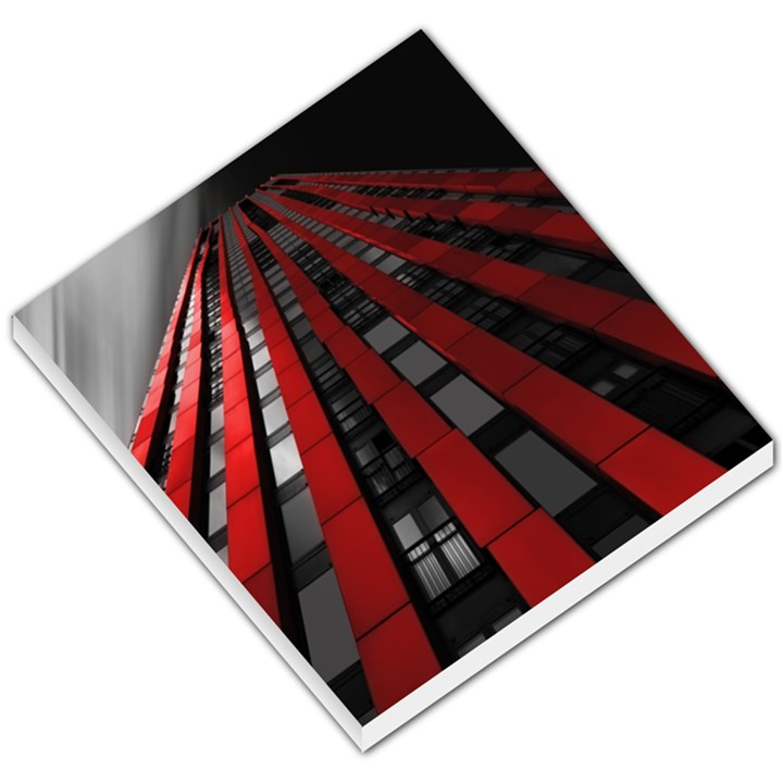 Red Building City Small Memo Pads