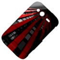 Red Building City HTC Wildfire S A510e Hardshell Case View4