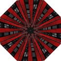Red Building City Hook Handle Umbrellas (Small) View1