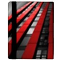 Red Building City Apple iPad 2 Flip Case View3