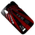 Red Building City HTC Desire V (T328W) Hardshell Case View5