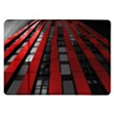 Red Building City Samsung Galaxy Tab 10.1  P7500 Flip Case View1