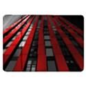Red Building City Samsung Galaxy Tab 8.9  P7300 Flip Case View1